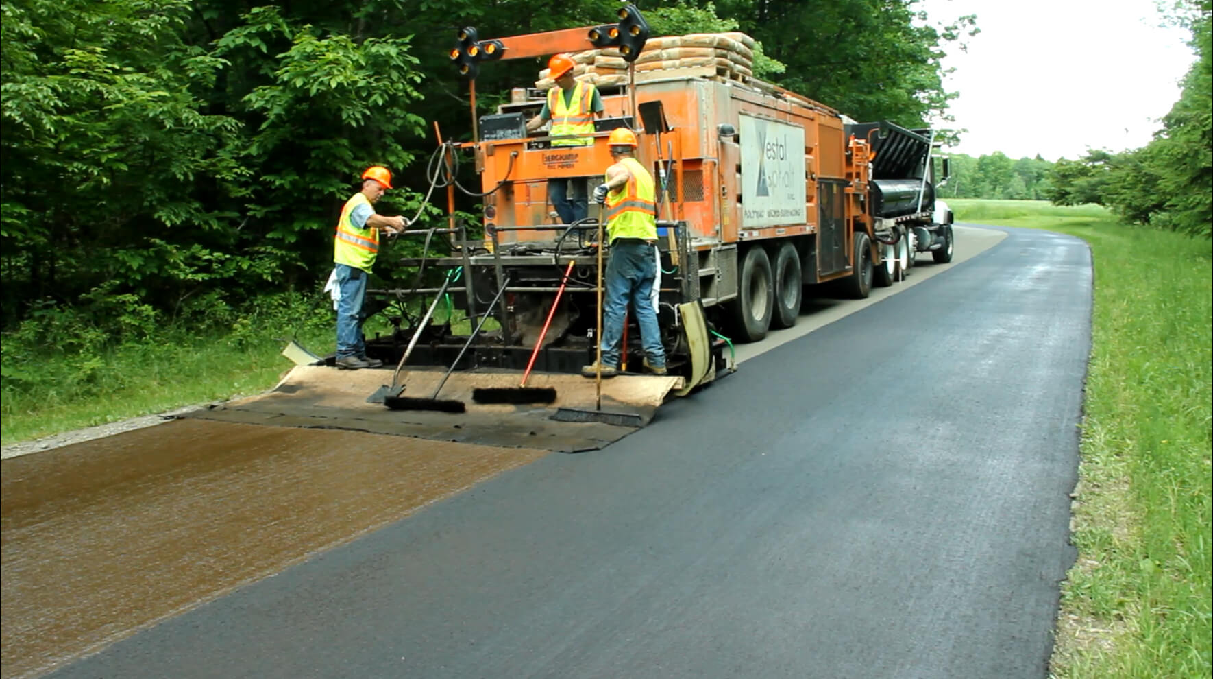 road maintenance-SlurrySeal